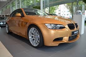 e92 bmw m3 in sunburst gold metallic