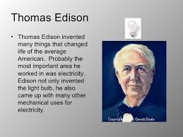 Inventor Of The Light Bulb Inventors During The Latest 1800