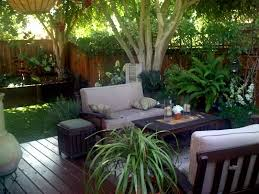 outdoor relaxing small backyard landscaping ideas with beautiful