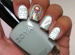 nail art tutorial diy easy tribal nails black and white nail nail