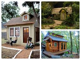 backyard shed house home outdoor decoration