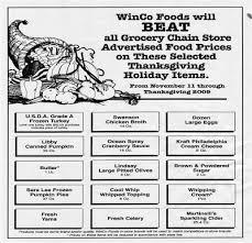 winco s promise lowest price for thanksgiving dinner utah deal