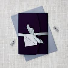 Folded Wedding Invitations Darling Ducks Pocketfold Wedding Invitation Be My Guest