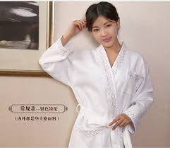 robe de chambre été robe de chambre kimono coton le préféré