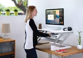 Desk Extender For Standing Workspace Lift35 Standing Desk Ergotronhome