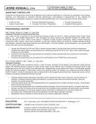 Sample Resume For Tax Preparer Sample Financial Controller Resume Sample Controller Resume Sample