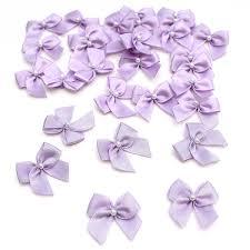 pearl ribbon lilac pearl ribbon bows 30 pack hobbycraft