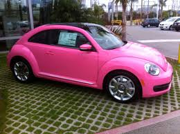 pink volkswagen beetle with eyelashes beetle car pink