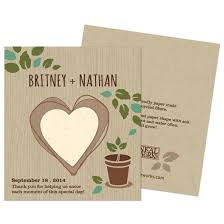 seed paper favors herb rustic wedding favor plantable seed wedding favors