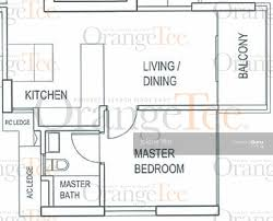 the shore floor plan the shore residences 87 amber road 1 bedroom 592 sqft