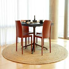 Dining Room Carpet Protector by Beautiful Round Dining Room Rugs Images Home Design Ideas