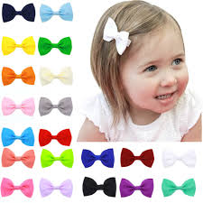 baby hair clip baby girl hair mini bow 20 pack