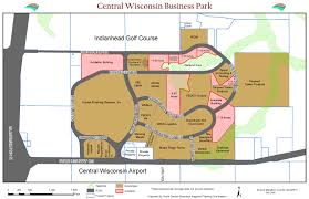 Map Of Central Wisconsin by City Of Mosinee Central Wisconsin Business Park