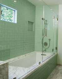 master bathroom tile ideas master bathroom idea with open plan design and all in green tile