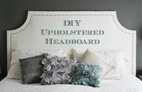 king upholstered headboard with nailhead trim bedroom style your sleep space with elegant upholstered