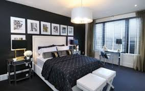 room with black walls how to decorate a bedroom with black walls