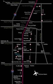Hotels In Las Vegas Map by Vegas Life Today