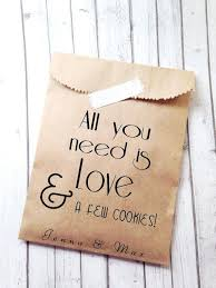 wedding treat bags paper bags for wedding favors faux gold foil personalized wedding