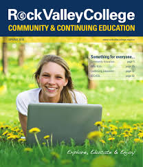 spring 2013 community and continuing education schedule by rock
