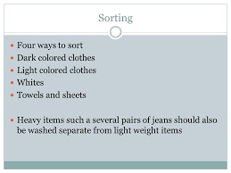 how to wash light colored clothes bell ringer do you do your own laundry if so do you sort your