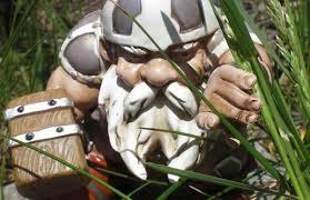 viking lawn ornaments garden gnome