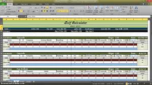 Stat Sheet Template Golf Stats Spreadsheet Laobingkaisuo Com
