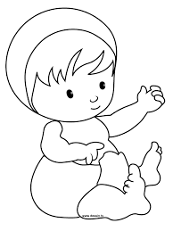 coloring pages of babies colouring pages olegandreev me