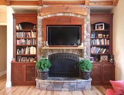 built in bookcases with tv surround custom wooden cabinets and