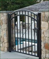ornamental iron walk gate entrance gates wood gates and more