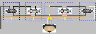4 way switch wiring diagram power enters at 3 way switch proceeds