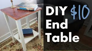 Free Woodworking Plans Small End Table by Make An End Table W Plywood Youtube