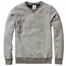 home alone sweater scotch and soda home alone sweater in grey melange 125067