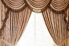 Window Swags And Valances Patterns Vintage Baroque Floral Pattern Is Reimagined In This Elegant
