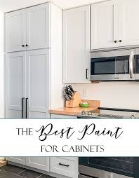 best paint finish for kitchen cabinets here s the best paint for cabinets best paint for kitchen
