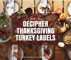 how to decipher your thanksgiving turkey labels to cultivate