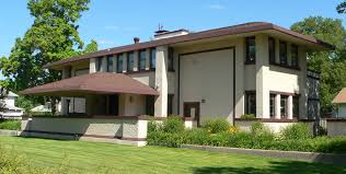 the k c derhodes house frank lloyd wright prairie style