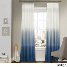 decor indigo panel curtains with wall decor also grey paint wall