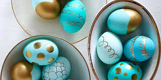 metallic easter eggs creative ways to dye eggs traordinary easter eggs hapari