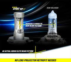 G7 Led Light Bulb by Genssi Elite H11 H9 Led Headlight Conversion Kit 76w Cree 6000k