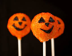 halloween cakepops these peas are hollow boo