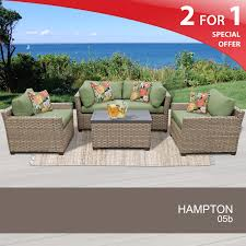 Hampton Patio Furniture Sets - 5 piece outdoor furniture set rattan patio furniture set