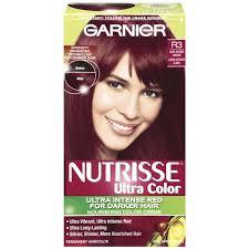 hair color for dark hair to light nutrisse ultra color permanent hair color light intense auburn r3 1