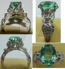 art deco dolphin ring holder images Art deco uranium vaseline glass ring sterling silver 1920s rare jpg