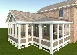 Screened Porch Screened Porch In Highland Mi Labra Design Build