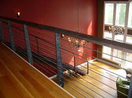 Contemporary Handrails Interior Contemporary Horizontal Iron Railings And Staircase Made By
