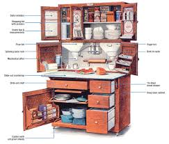 American Woodcrafters Supply Famous Furniture The Hoosier Cabinet