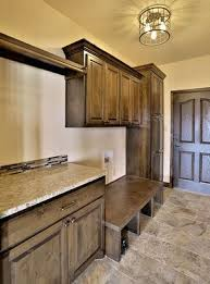 kitchen cabinet bench seat mud room 1 knotty alder mud rooms and bench seat