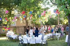 Outdoor Party Ideas by Backyard Party Decorations Backyard Decorations By Bodog