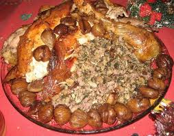 cuisine chapon recette de chapon farci aux chignons et châtaignes
