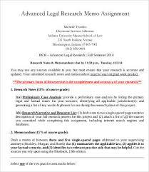 memo of law example legal memo legal tax accounting memorandum